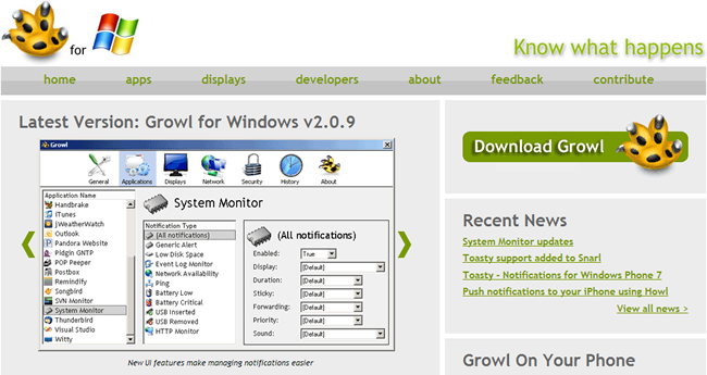 Is Growl for Windows Still Exist?